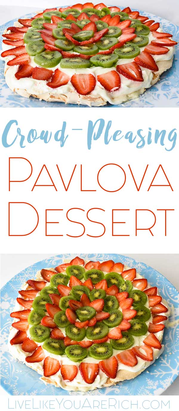 Crowd-Pleasing Pavlova Dessert