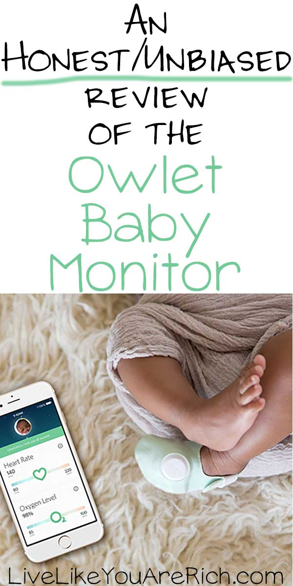 An Honest Review Of The Owlet Baby Monitor Live Like You