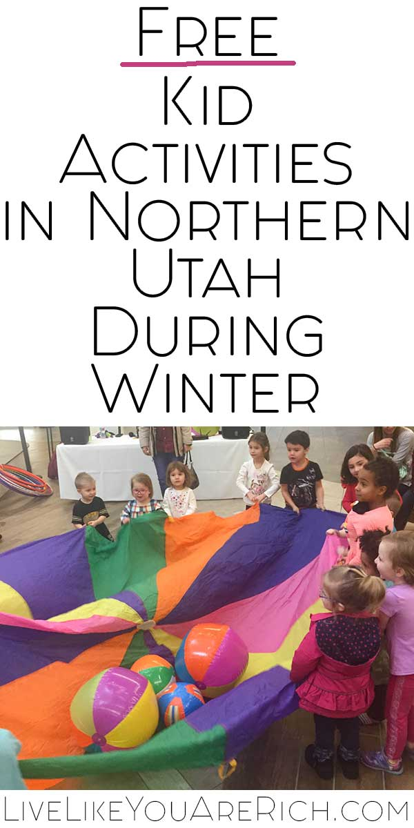 Free Activities for Kids in Utah in the Winter