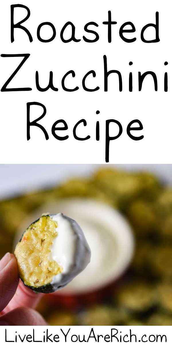 Roasted Zucchini Recipe