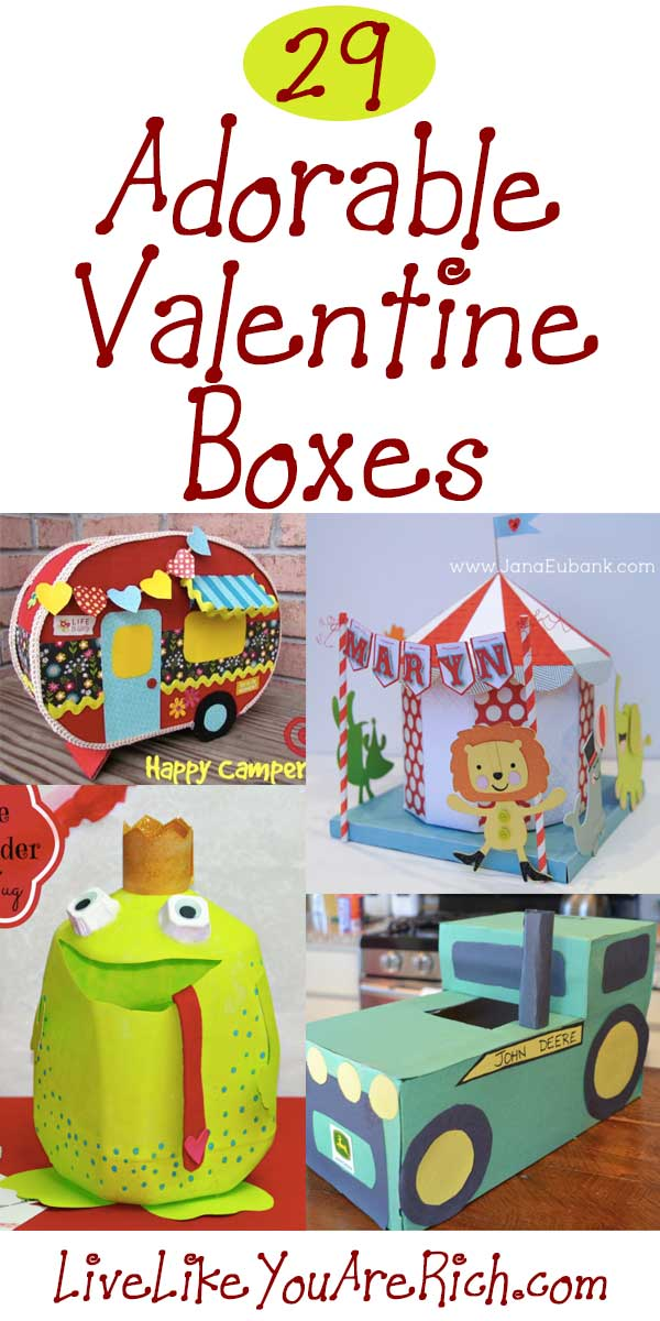 29AdorableValentineBoxes