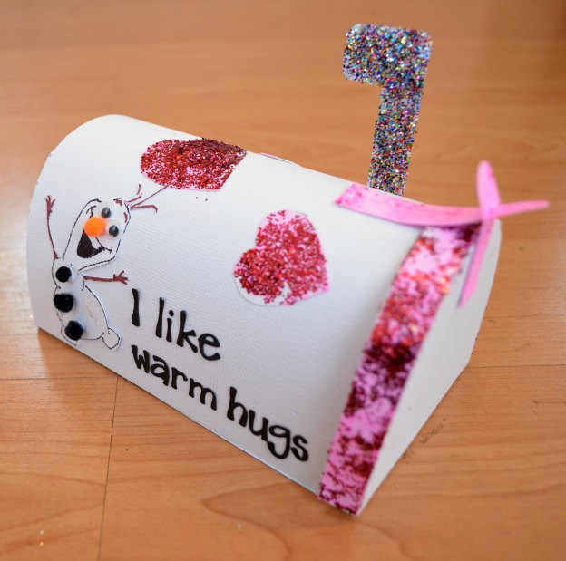 frozen valentines box