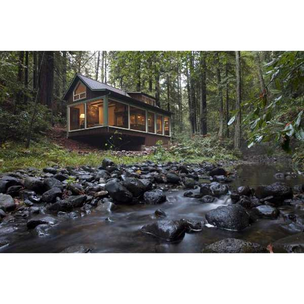 Flipping an Older Cabin into Your Luxury Vacation Home