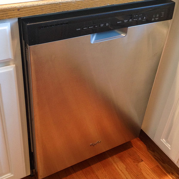 How to Upgrade Your Dishwasher to Stainless Steel for Around $100.00