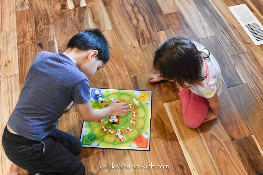 15 More Top Board Games for 5 and Under