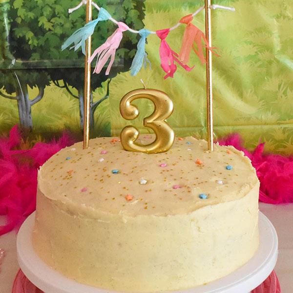 DIY Cake Topper Banner