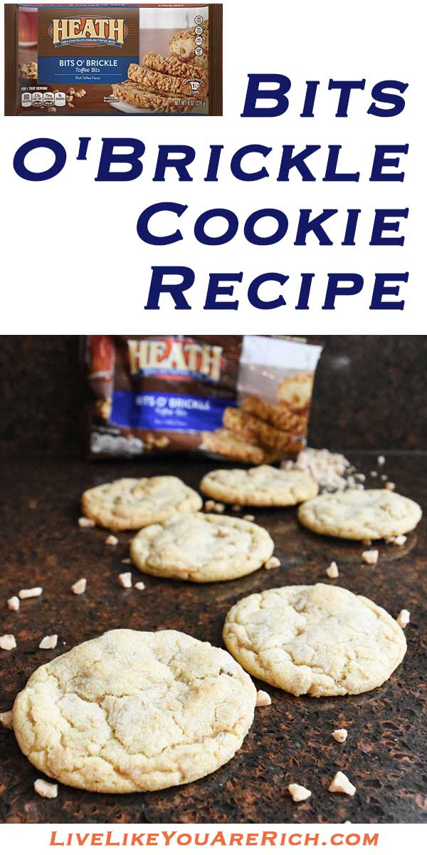 Heath Bits O'Brickle Cookie Recipe
