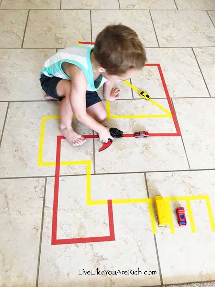Inexpensive-and-Easy-Activities-for-Kids—Series. Post 1:Tape