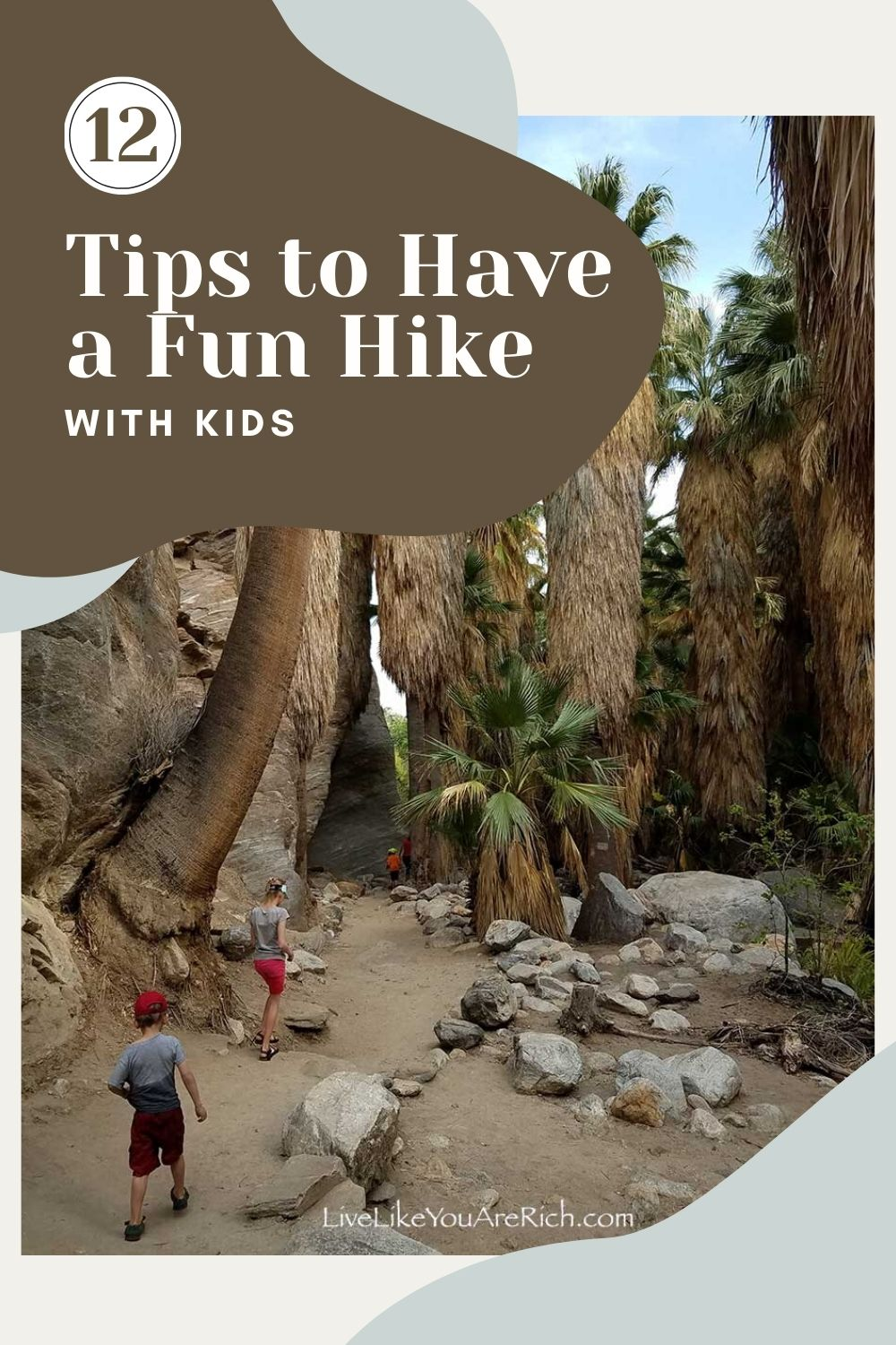 I am always looking for fun things/ activities to do with my kids to keep them active and happy without spending a fortune. I've found that hiking is an awesome way to do that! Here are 12 great tips for hiking with kids shared by my friend, an avid hiker.