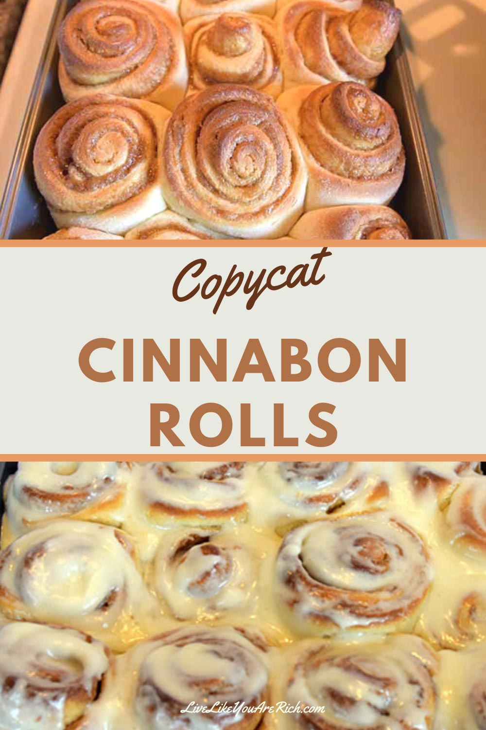This Cinnabon Copycat Recipe is one amazing recipe that is easy and super delish. Perfect for breakfast, dessert or snack. If you love cinnabon's you'll love this.