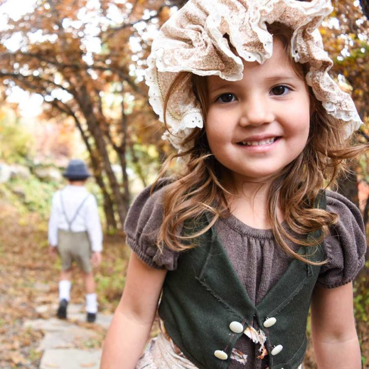 Gretel Costume—The Brother's Grimm Fairytales