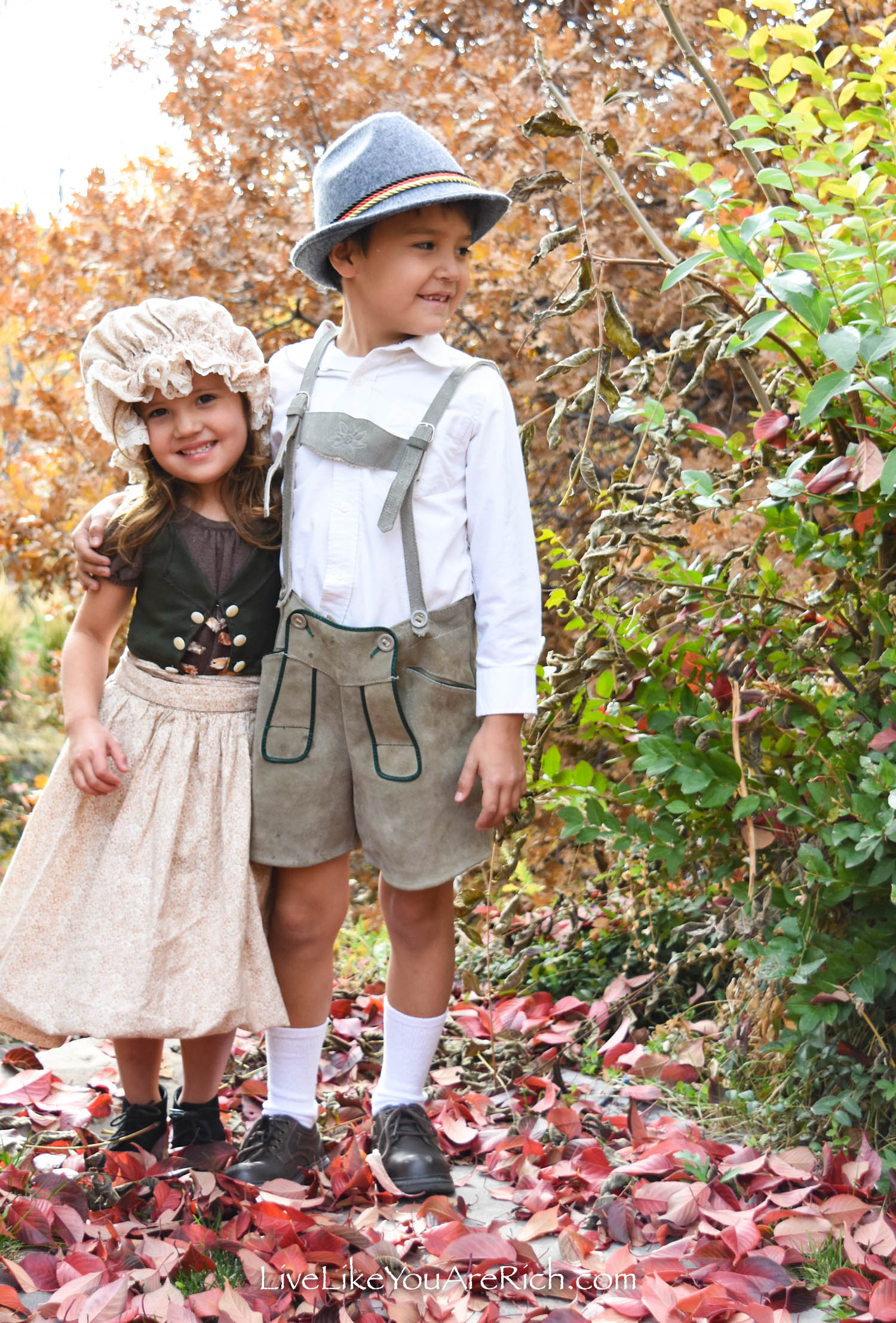 Hansel and Gretel Costumes—Grimm's Fairytales
