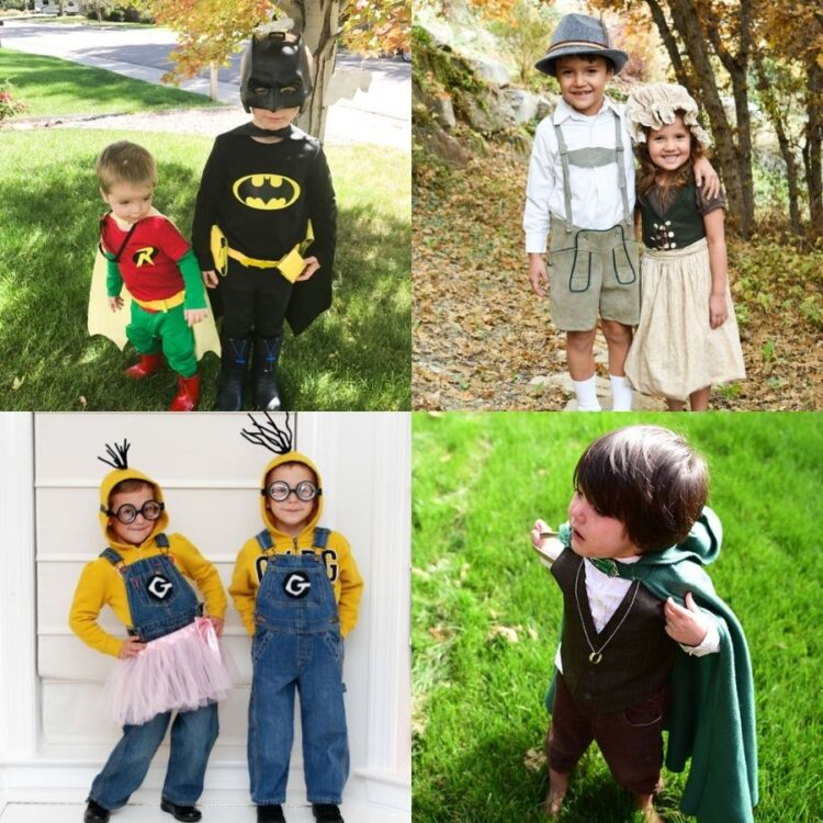 19 Fun Homemade Halloween Costume for Ages 2-5