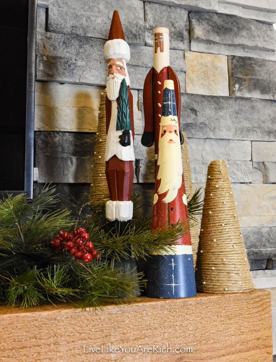 DIY Jute Christmas Trees