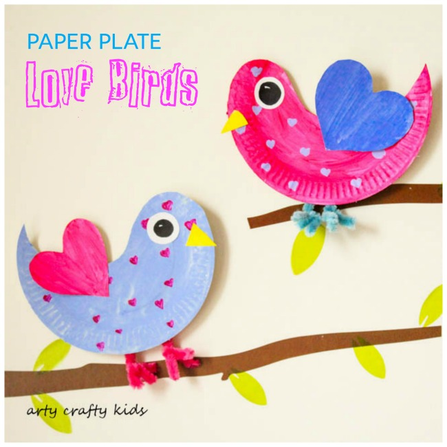 25 Easy Valentine's Day Craft for Kids that are fun and simple.