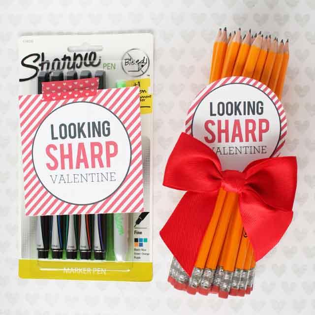 Looking Sharp Teacher Valentine