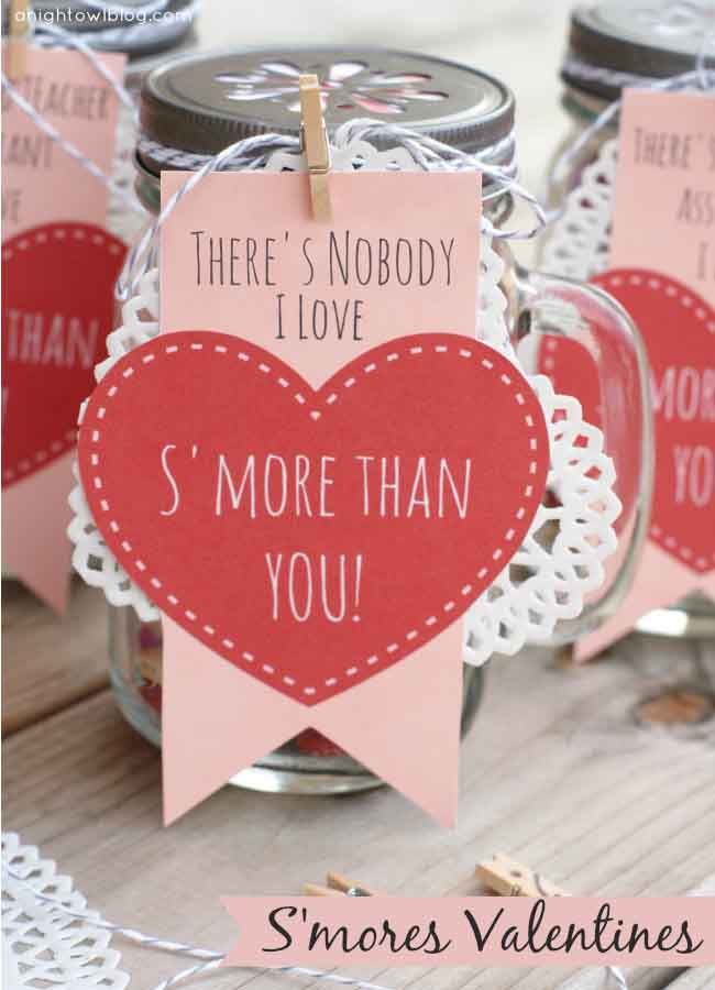 Smores Valentines