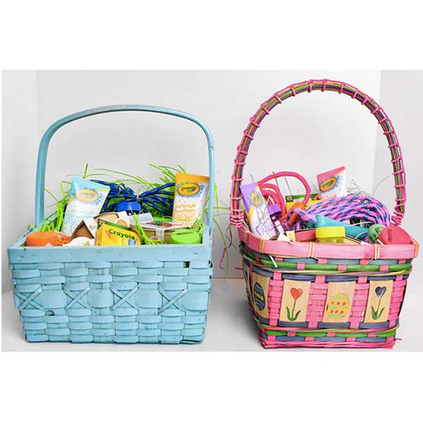 $10.00 Outdoor-Activities Easter Baskets {Candy Free}