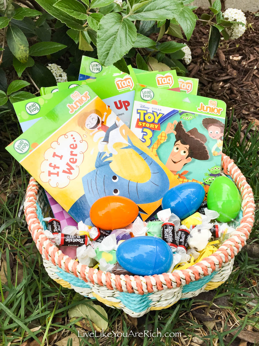 Book-Themed Easter Baskets