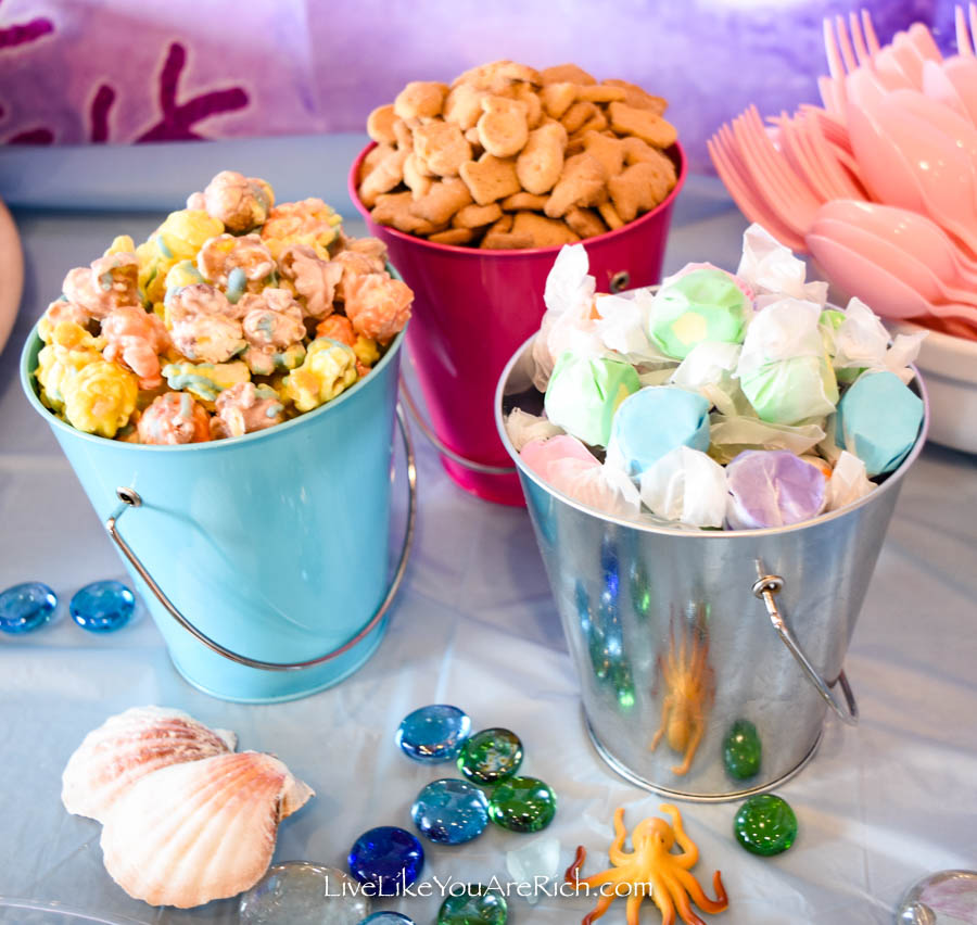 Mermaid Under the Sea Party: Food - Mermaid Dessert