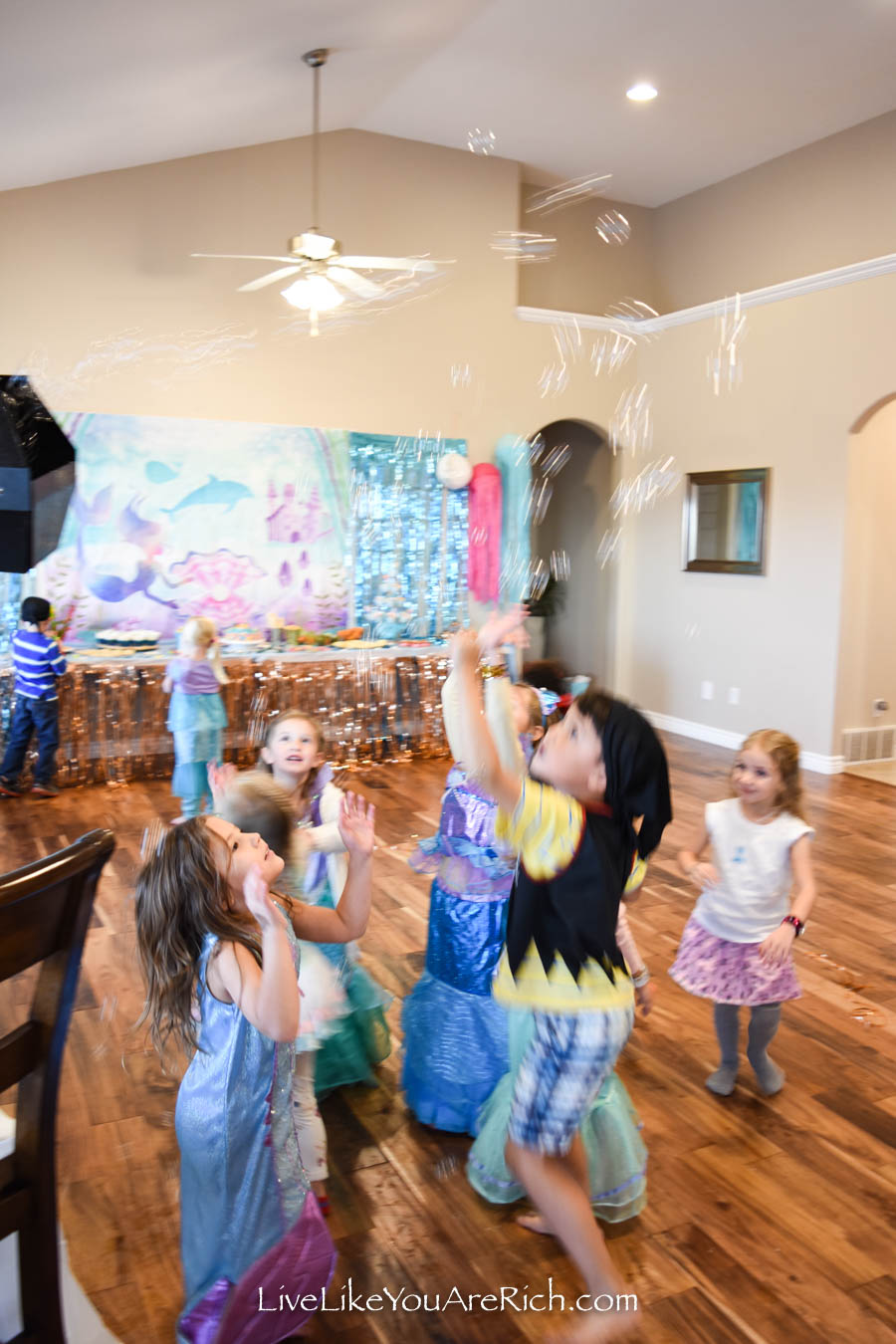 pirate, mermaid, under the sea party activities and games