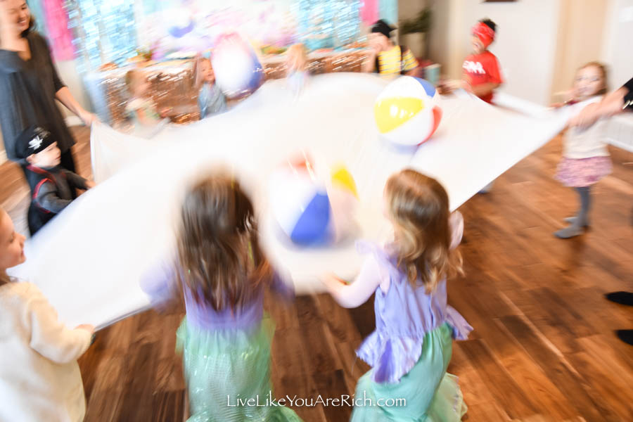fun under the sea pirate party game