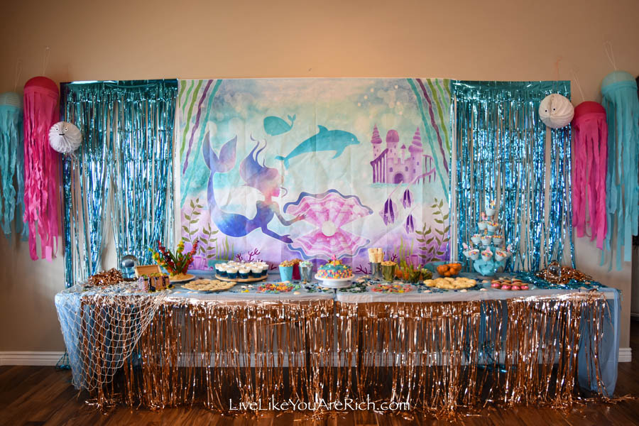 Mermaid Under the Sea Party: Food