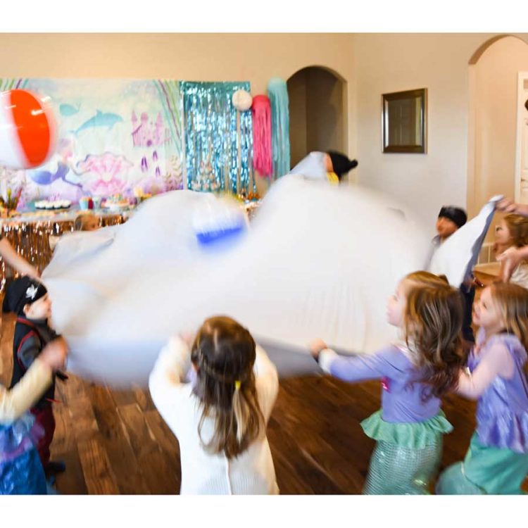 Mermaid Under the Sea Party Activities