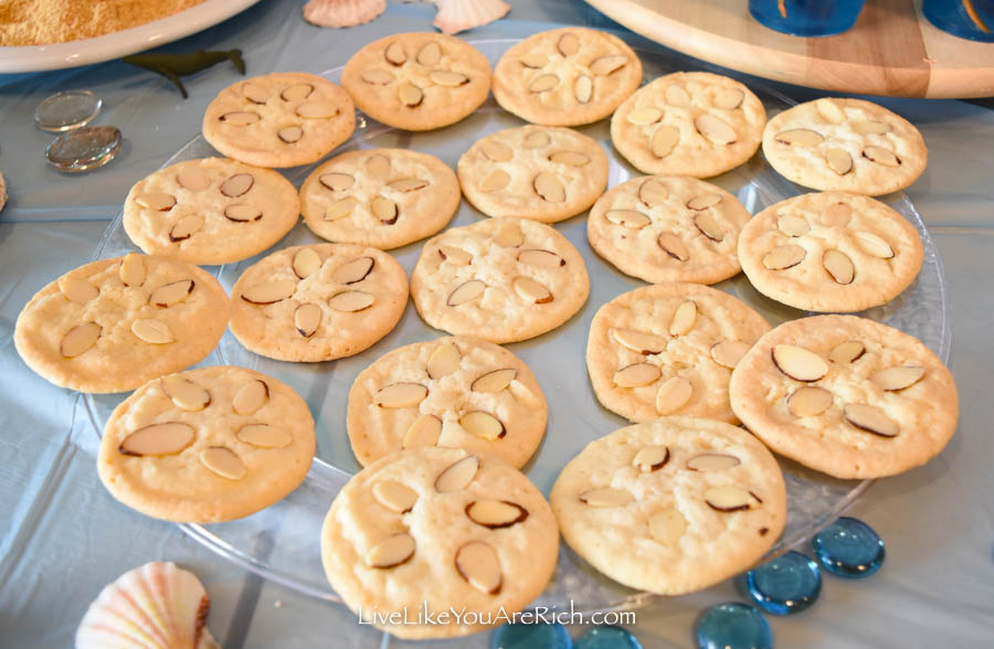 Mermaid Under the Sea Party: Food - Sand Dollar Cookies