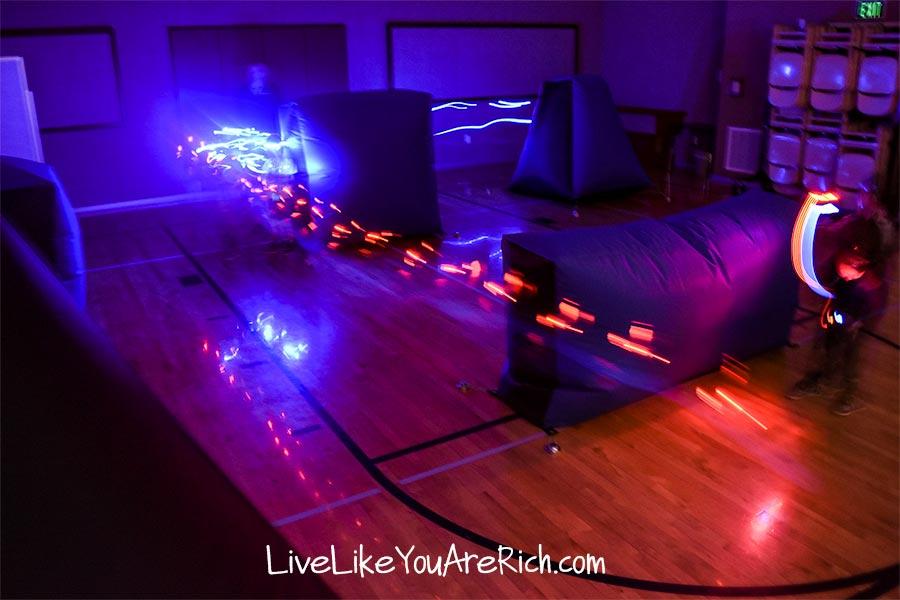 ninja party laser tag