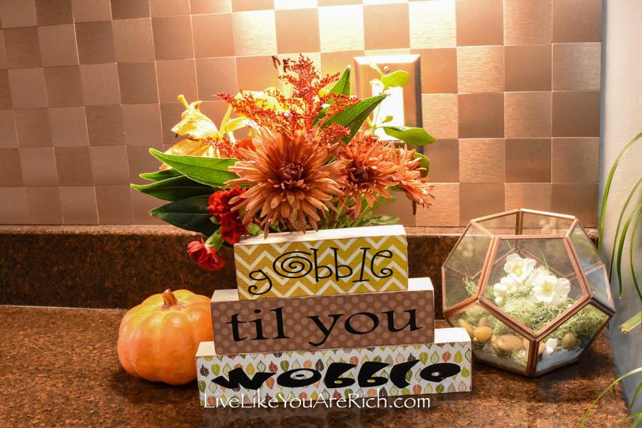 Inexpensive Thanksgiving Craft