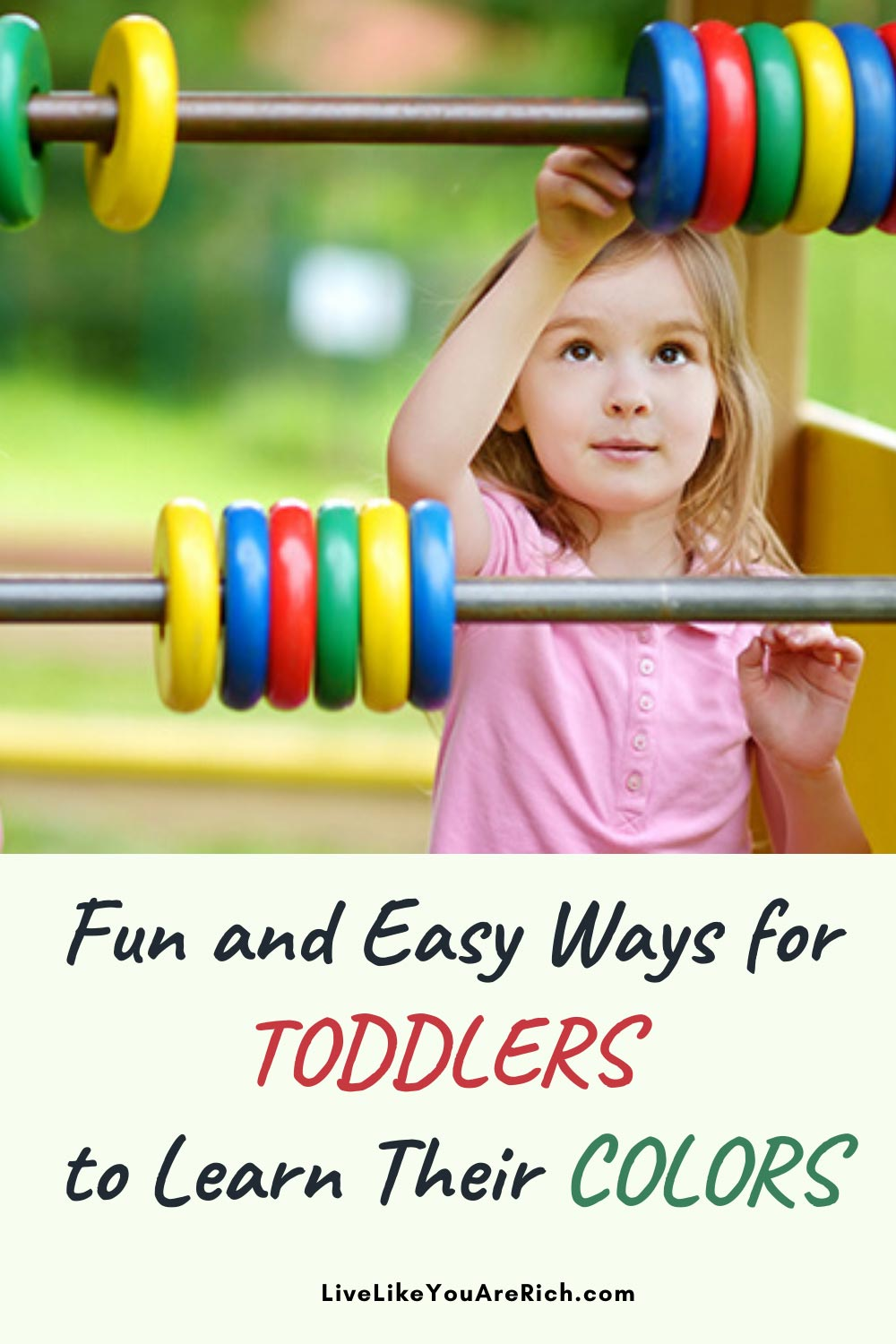 Children learn their colors between 20 months-3 1/2 years of age. Doing some of the following 37 activities will help facilitate their learning. #kidsactivities #colors #toddlers
