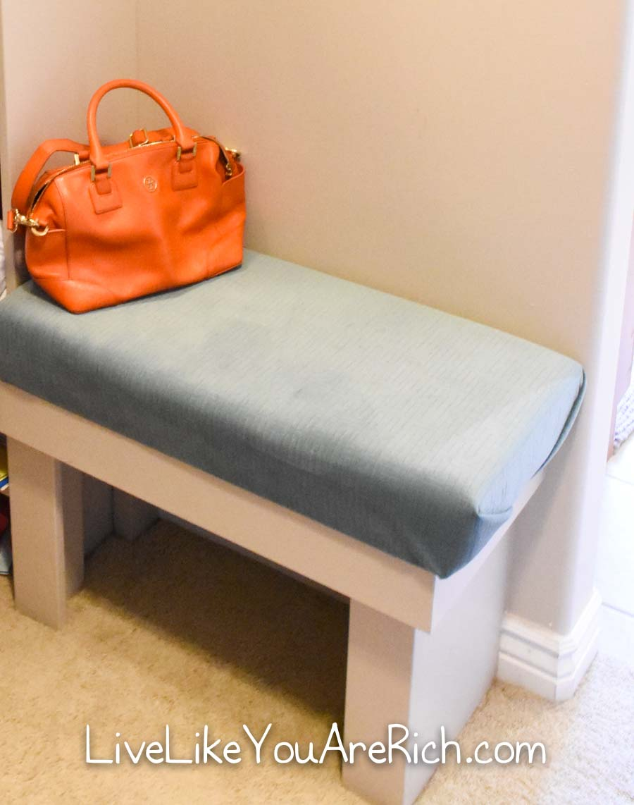 Finished bench seat
