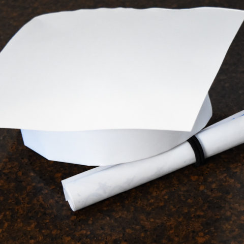 How to Make a Graduation Hat and Diploma out of Standard Paper