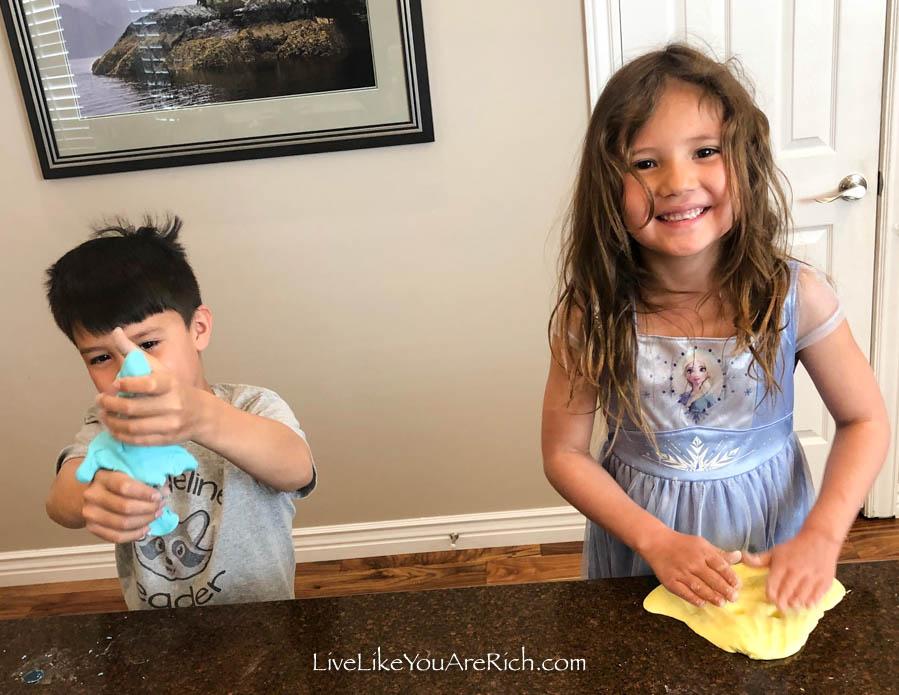 easy homemade play dough