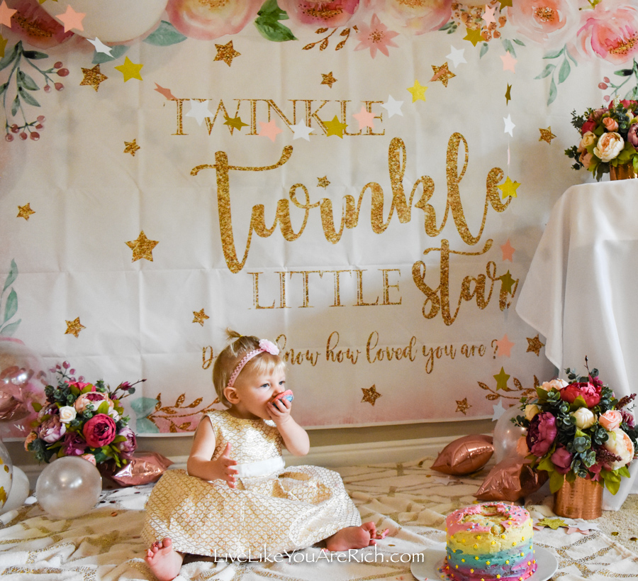 Twinkle Twinkle Little Star little girl party