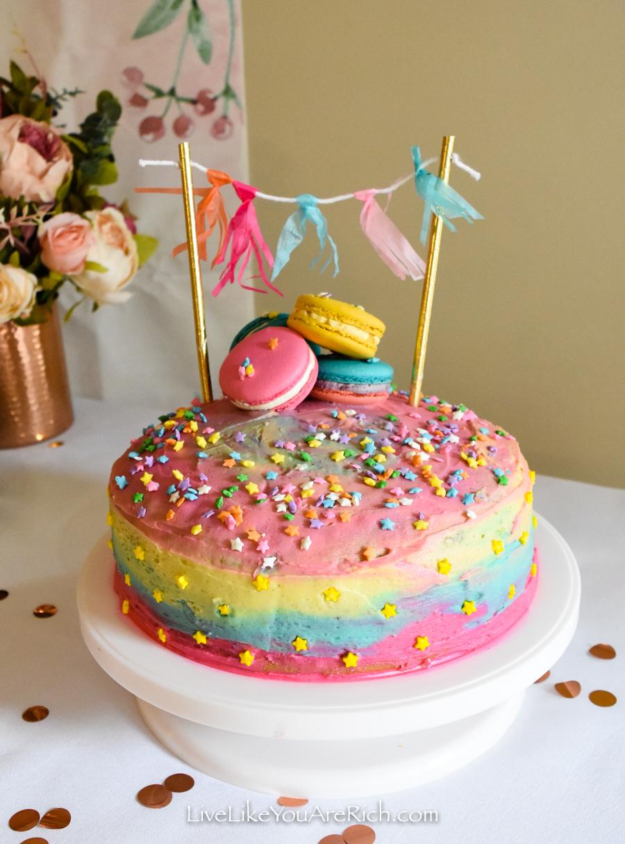 Twinkle Twinkle Little Star cake banner