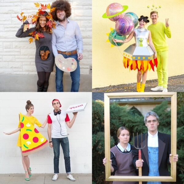 15 Homemade Halloween Costume Ideas for Couples