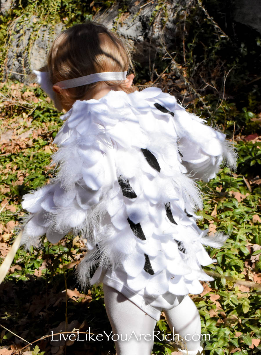 My daughter love her Hedwig costume