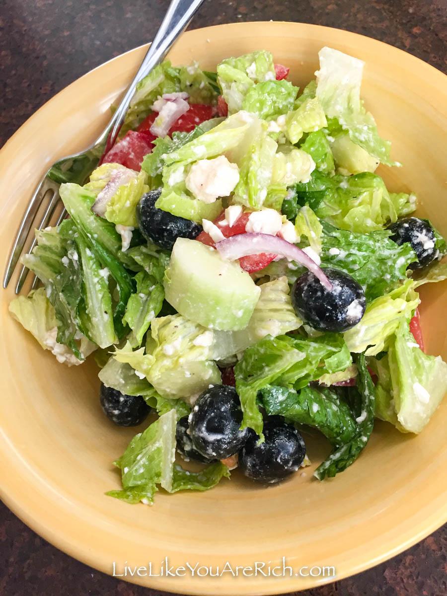 Easy to make Greek Salad Recipe