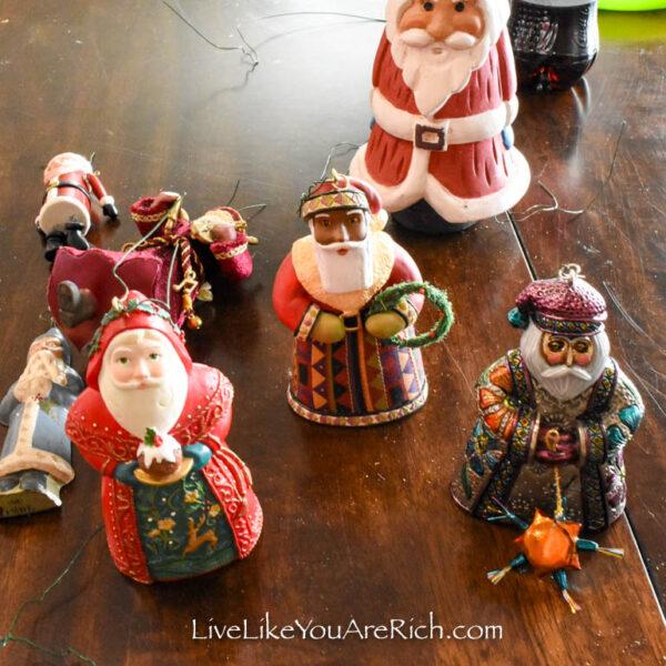 Santa Claus as kings