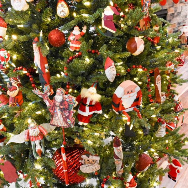 Santa Christmas Tree Ornaments