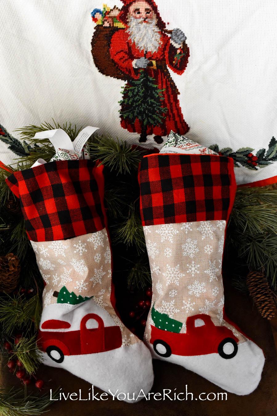 Christmas Advent Stockings