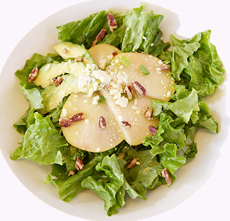 Birnen-Avocado-Salat mit Feta-Käse