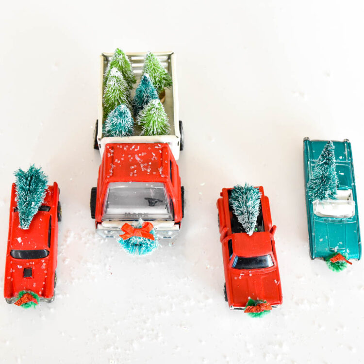 Christmas Red Truck Hot Wheels Restoration