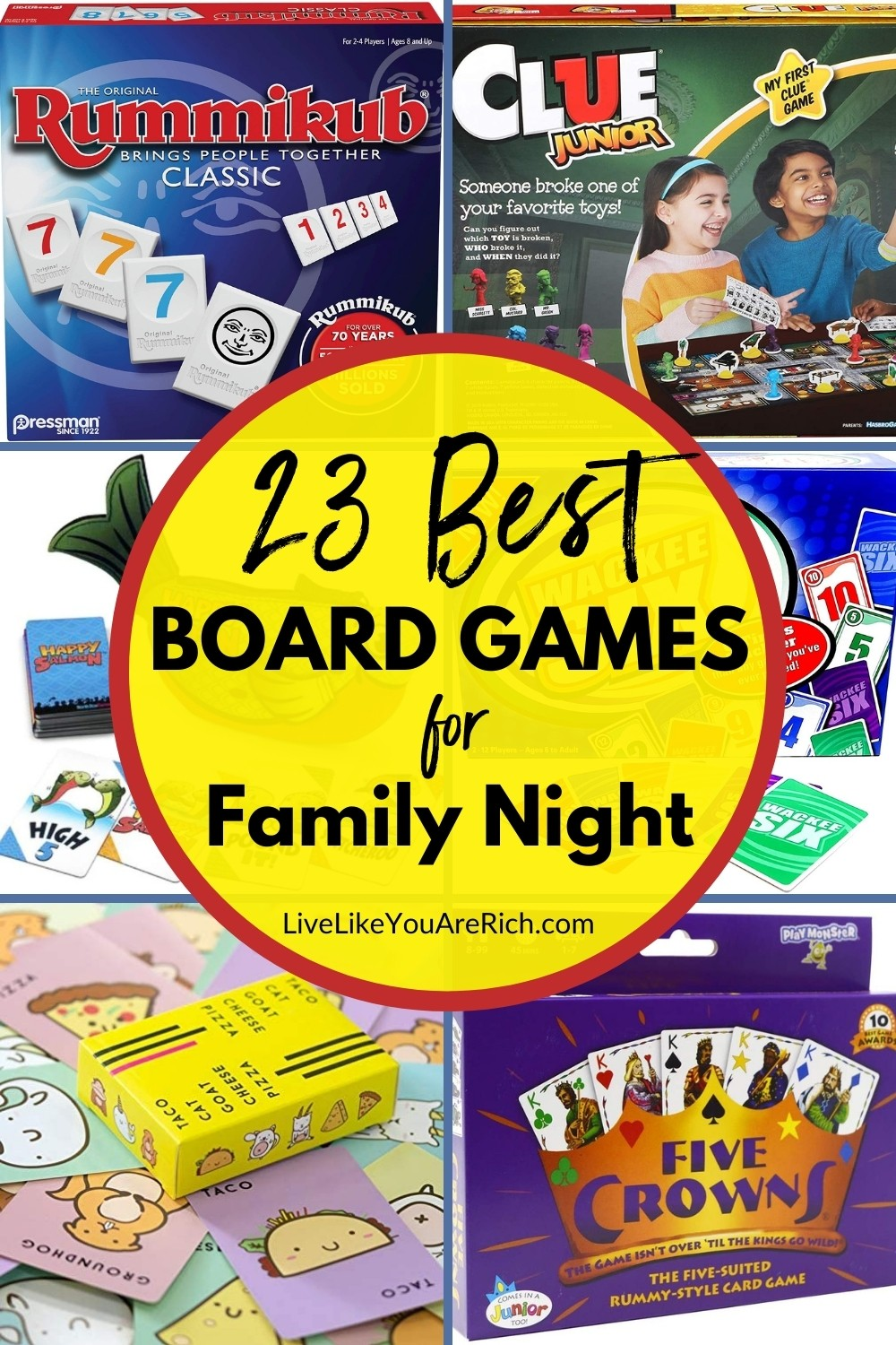 Looking for family game night? A lot of friend I know we're sharing their favorite family board games with each other. I hadn't heard of many of these so I thought I'd look them up. Most are very well rated and very fun to do when you are spending time at home. #boardgames #familygamenight #familyfunnight