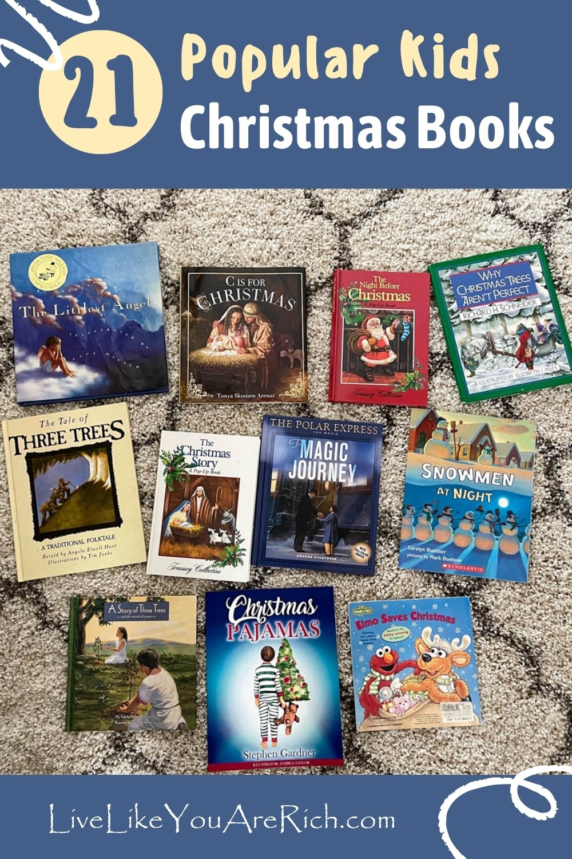 21 Popular Kids Christmas Books