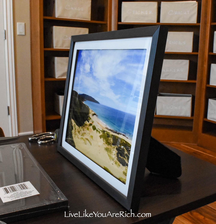 High quality dollar tree framed landscape photographs