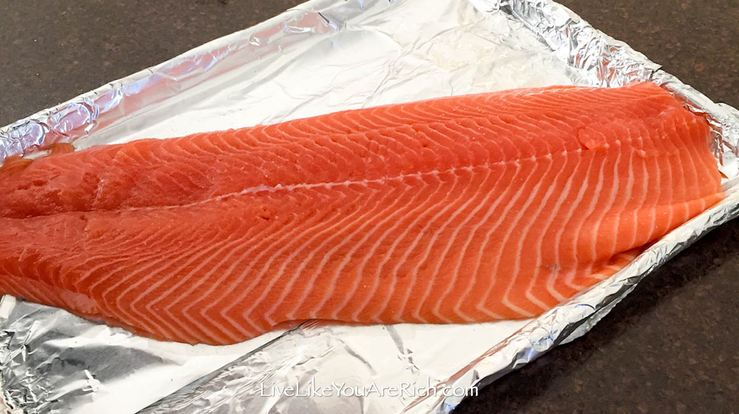 Brown sugar lemon garlic smoked salmon recipe