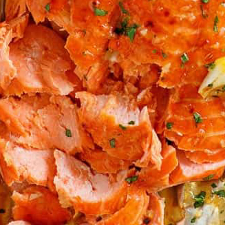 Brown Sugar Lemon-Garlic Smoked Salmon